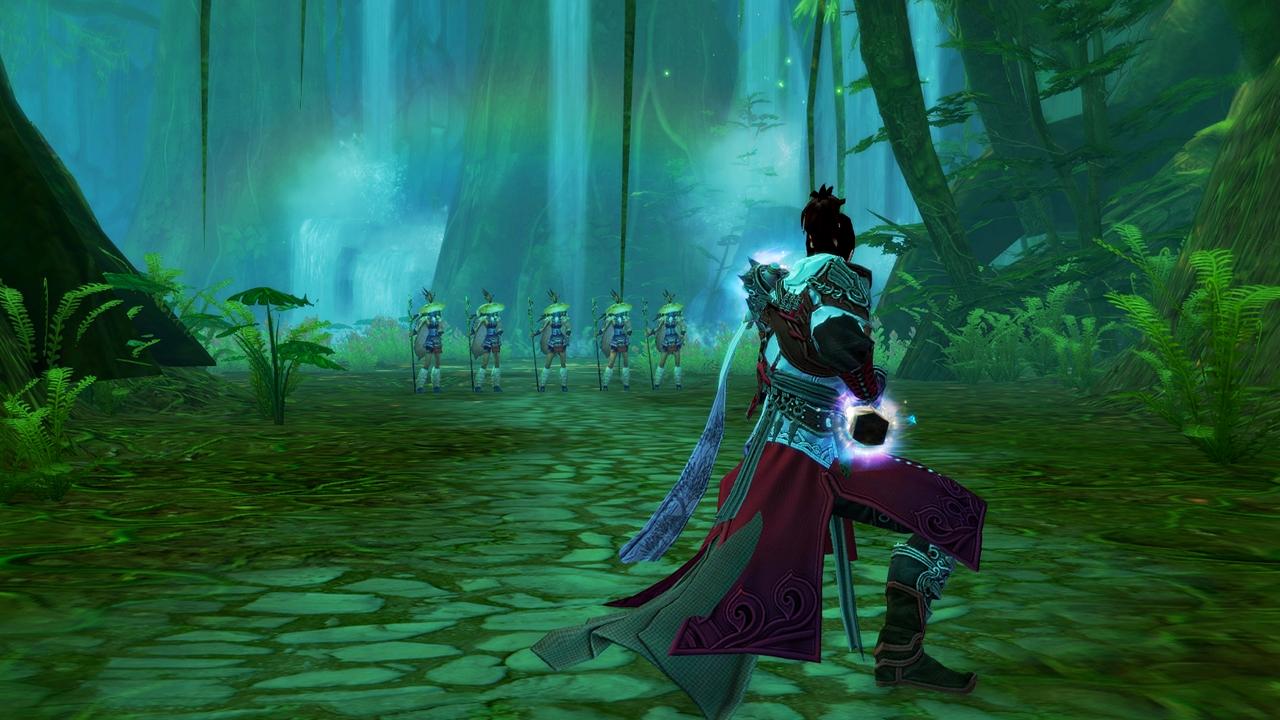 PWE's 2014 wuxia MMORPG Swordsman Online lands on Steam
