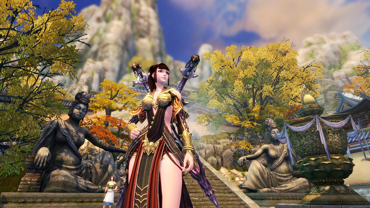 PWE's 2014 wuxia MMORPG Swordsman Online lands on Steam | Massively