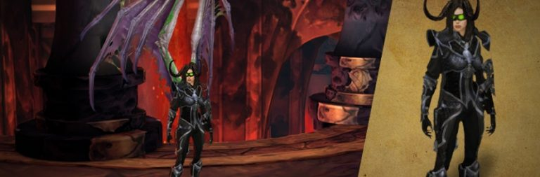WoW celebrates Diablo III's latest patch with Demon Hunter tmog gear