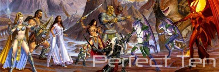Perfect Ten: What your MMO racial pick says about you