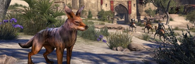 The Elder Scrolls Online adds new vanity pets for DLC owners