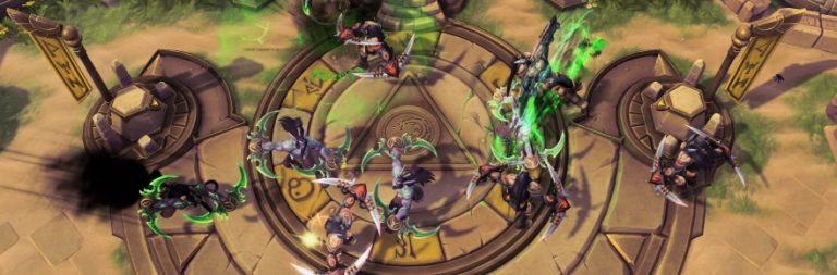 Heroes of the Storm patches in a new battleground, new options, and major hero changes