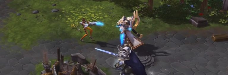 Heroes of the Storm previews Tracer's mechanics