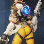 Tracer's original butt pose