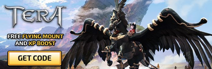 Grab a TERA Secrets & Shadows flying mount key from En Masse and MOP