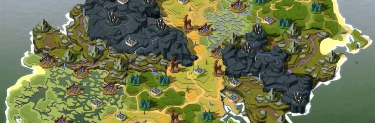 Albion Online's new video shows off its overhauled world map