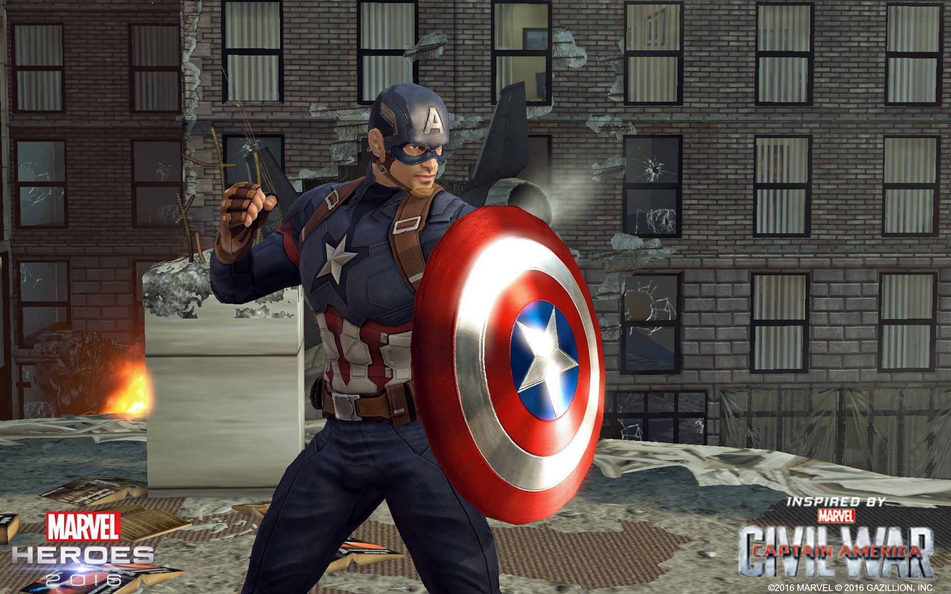 Marvel Heroes' Captain America: Civil War promo is live ...