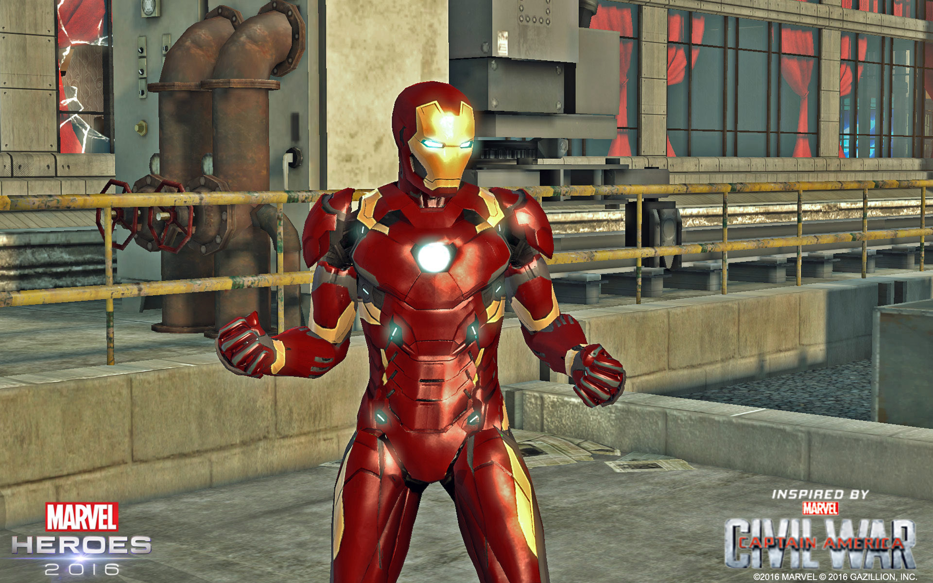 Marvel Heroes' Captain America: Civil War promo is live (so
