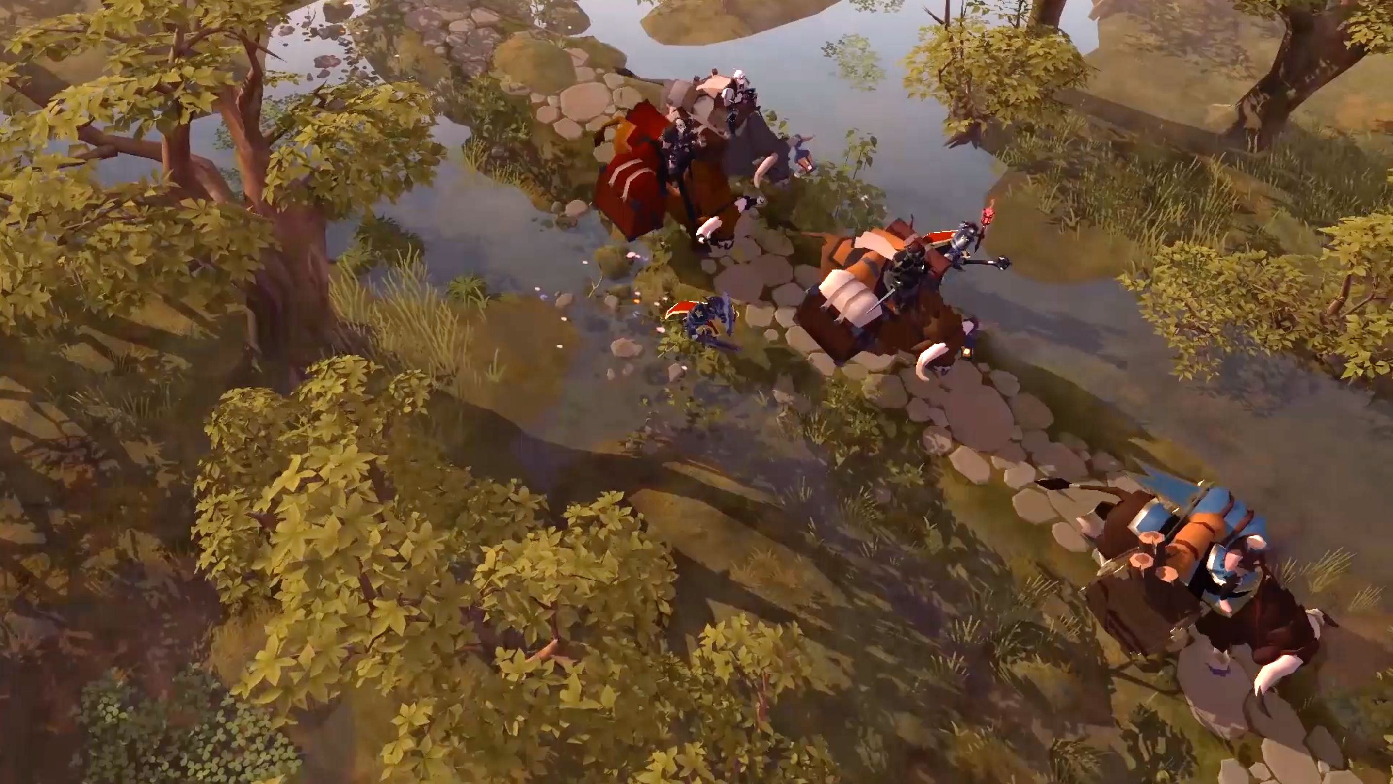 Albion Online S New Video Shows Off Its Overhauled World Map