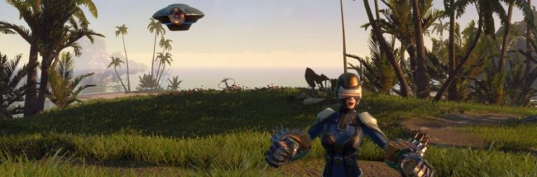 Skyforge introduces a floating robot companion for everyone