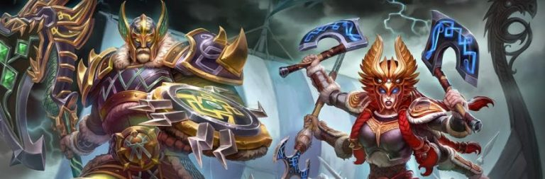 The Vikings invade SMITE today