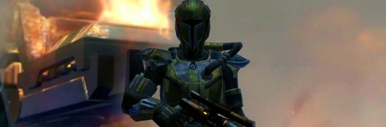 Star Wars: The Old Republic discusses the character designs for Mek-Sha's former Mandalorians in Onslaught