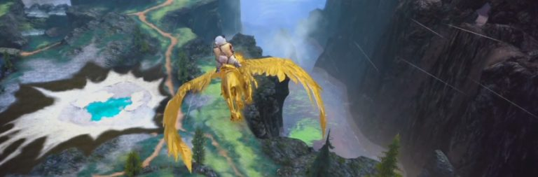 Check out a video preview of TERA's flying mounts