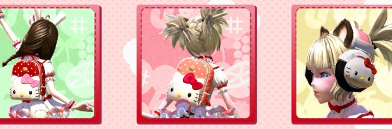 TERA adds new Hello Kitty mounts, outfits, and pets