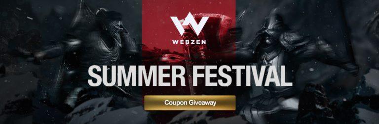 Grab an Asta, ELOA, Rappelz, Mu Online, Flyff, or C9 gift code in Webzen's summer giveaway