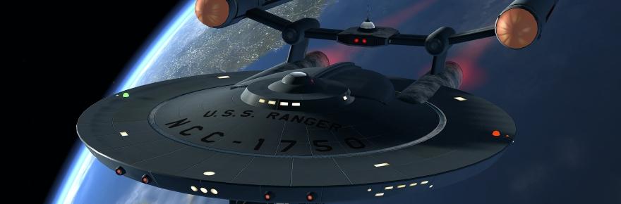 Star trek online talks about its new classic ship for Wohnung star trek design