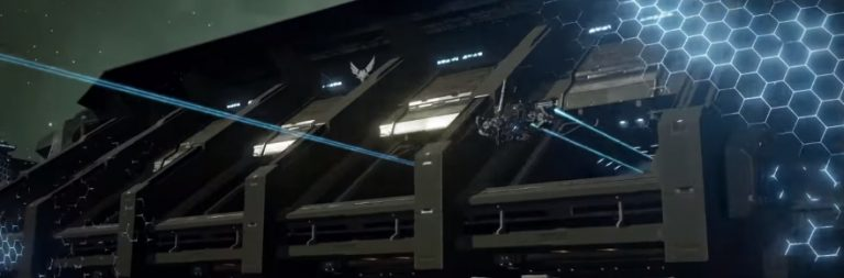 Go behind the scenes of EVE Valkyrie's carrier assault mode