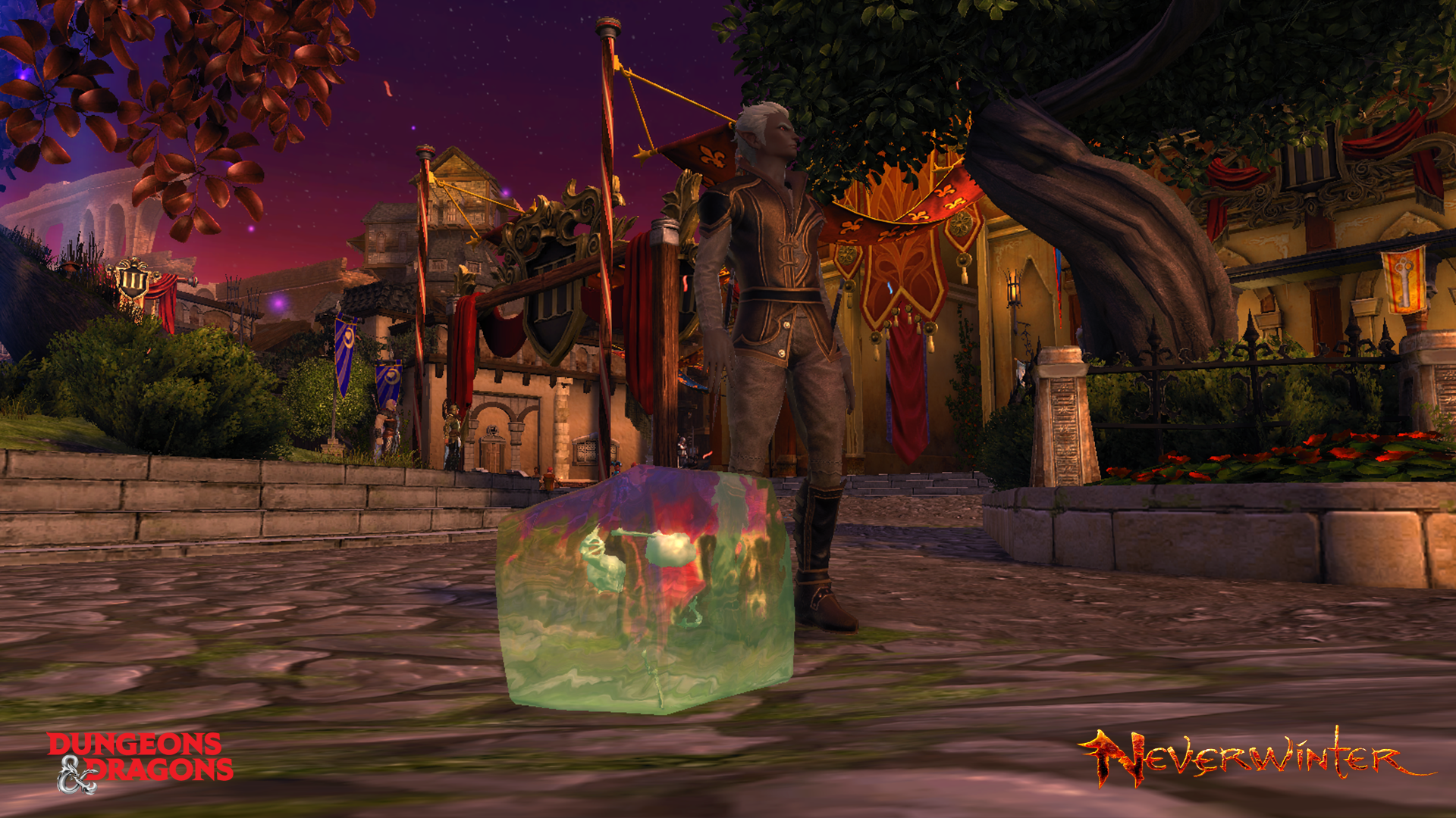 Enter to win a Neverwinter PS4 gelatinous cube companion from PWE