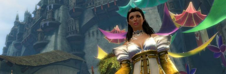 Guild Wars 2's Queen Jennah addresses the citizens of Kryta; Divinity's Reach is so doomed