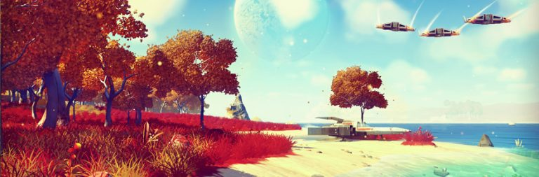 Everything is probably fine behind the scenes of No Man's Sky
