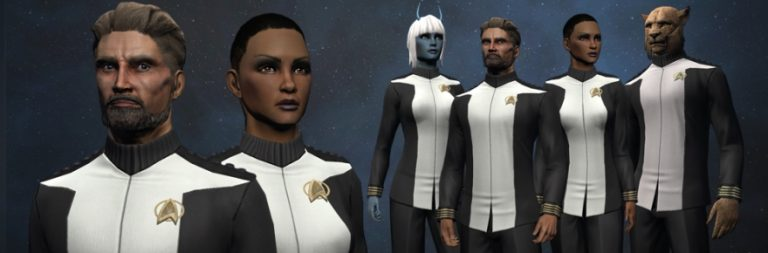Star Trek Online celebrates the franchise anniversary with an admiral's uniform