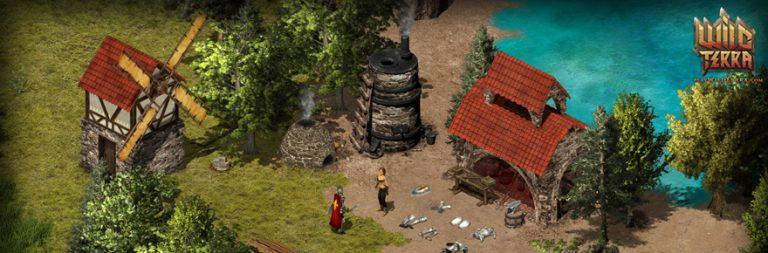 Test new skills in Wild Terra's recent update