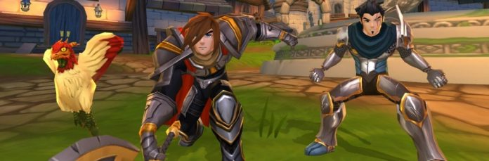 AdventureQuest 3D kicks it up to Unity 5 4, plans Android beta for