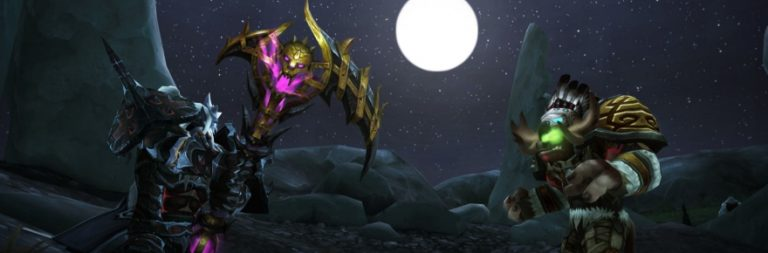 World of Warcraft offers up an introductory course on artifact weapons