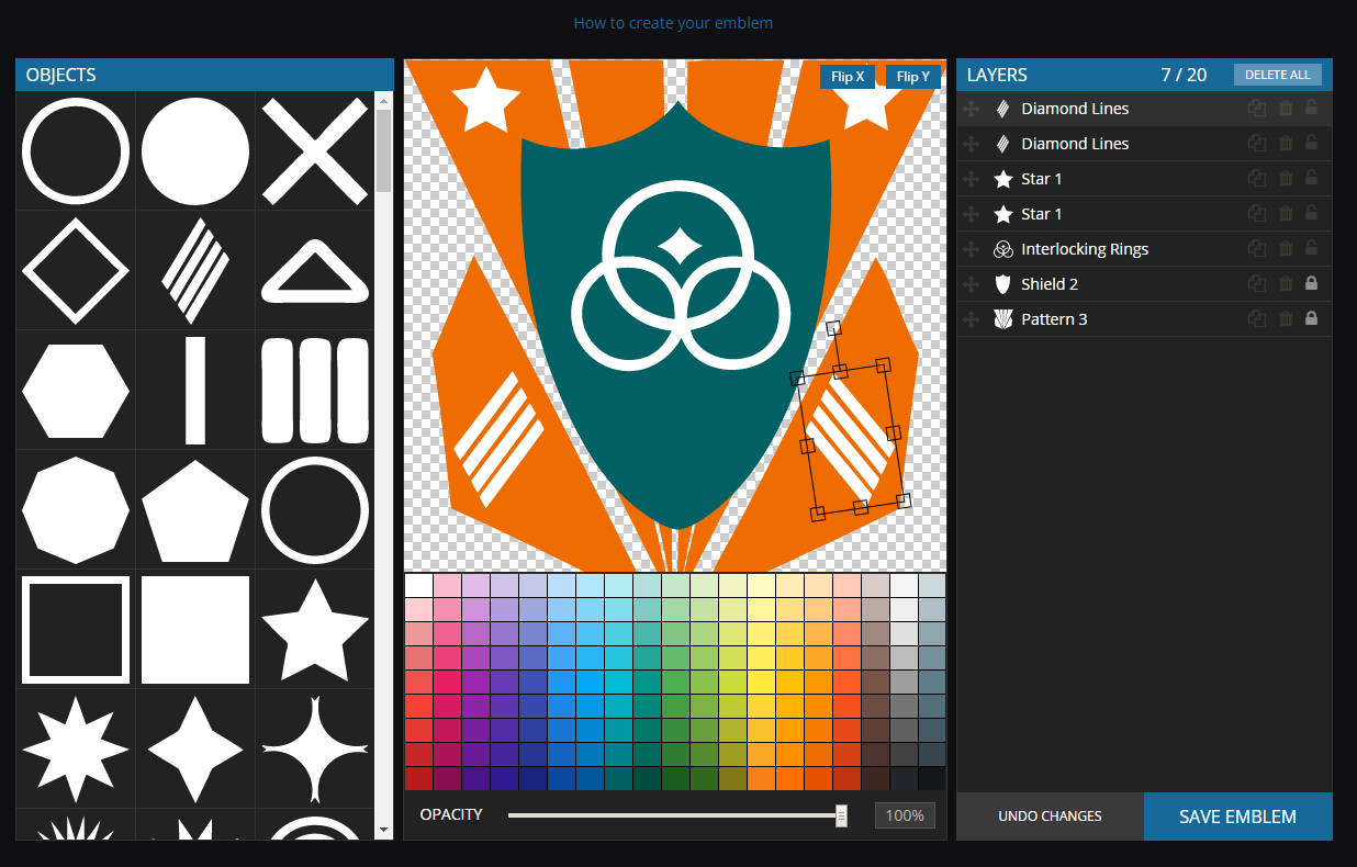 worlds adrift s emblem creator tool is now online massively