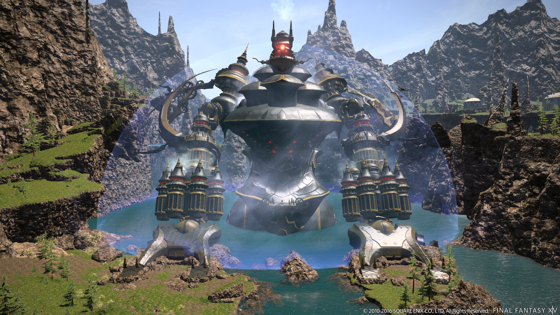 Final Fantasy XIV previews the end of Alexander and the second