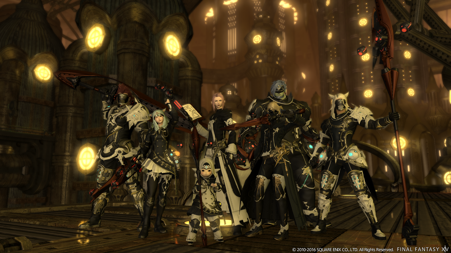 Final Fantasy XIV previews the end of Alexander and the