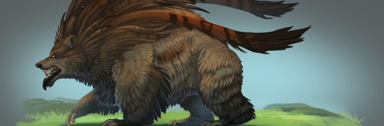 Crowfall shows off some of the monstrous wildlife for players to fight