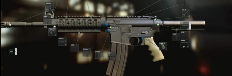 Escape from Tarkov shows off its extensive weapon customization