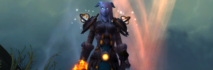 Always with Draenei.