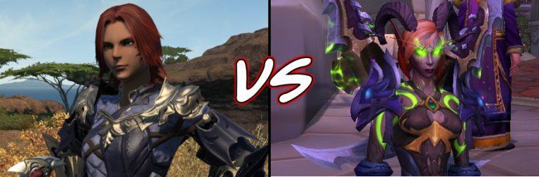 Epic MMO Battles of History: World of Warcraft vs. Final Fantasy XIV
