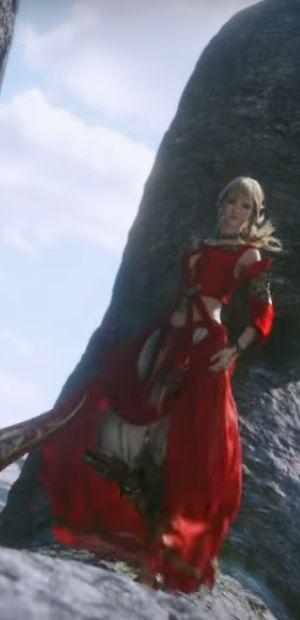 Final Fantasy XIV Fan Festival: What's the Lady in Red