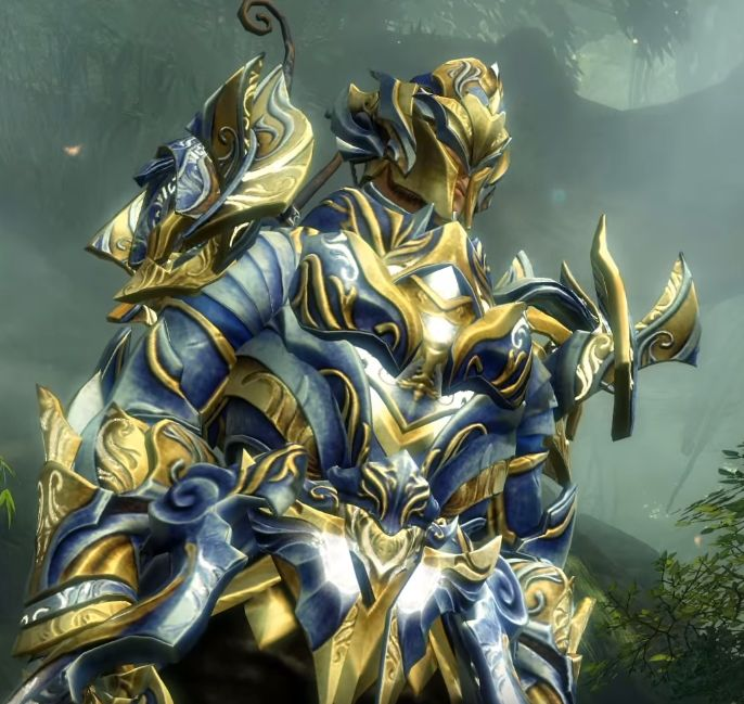 Here's a first look at Guild Wars 2's animated legendary armor