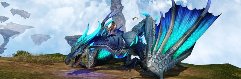 Riders of Icarus releases its newest patch, Call of the Wild