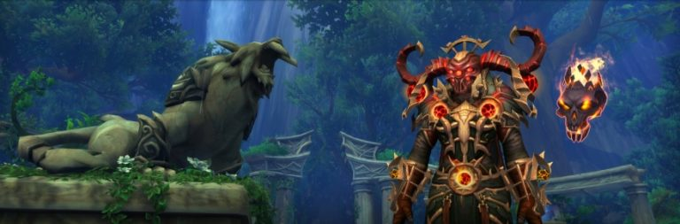 World of Warcraft players will have a quest to upgrade Legendary items