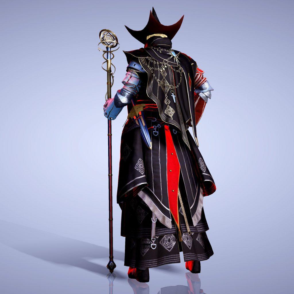 Black Desert Online Wizard Fashion