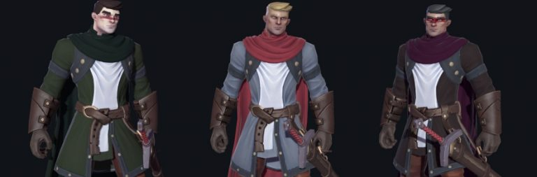 Crowfall shows off the many faces (and colors) of character customization