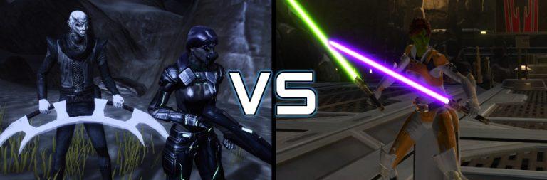 Epic MMO Battles of History: Star Trek Online vs. Star Wars: The Old Republic