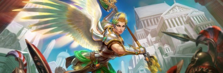 SMITE launches the goddess Nike with the Wings of Victory patch today