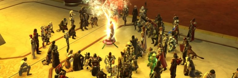 Star Wars: The Old Republic players pay tribute to Carrie Fisher