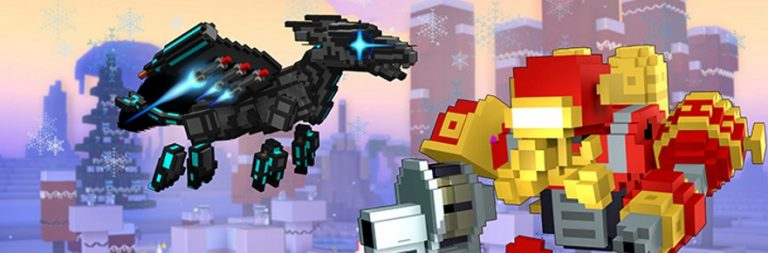 Trove lights up Snowfest, lets players design minigames