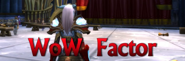 WoW Factor: When long-term progress in World of Warcraft isn't
