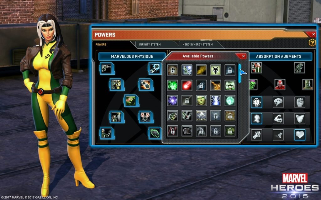 marvel heroes test