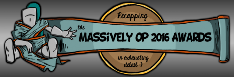 Massively OP's 2016 awards debrief and annual recap