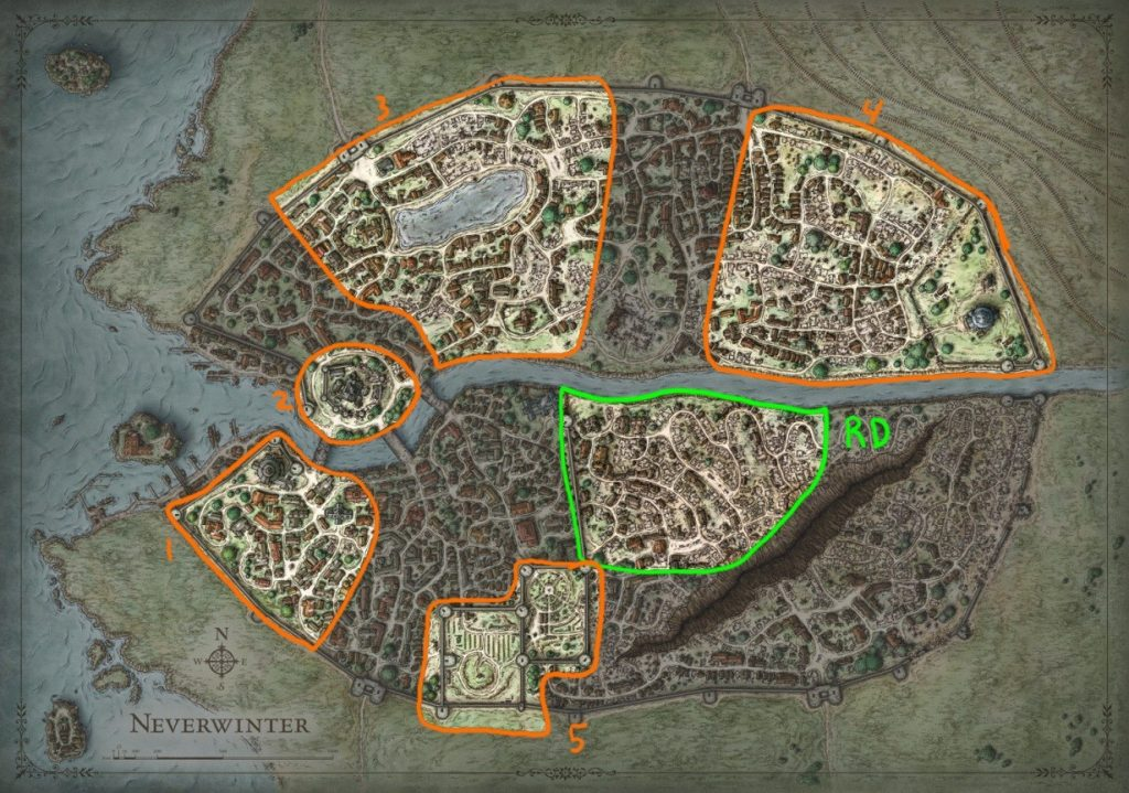 Neverwinter Details The Making Of The River District