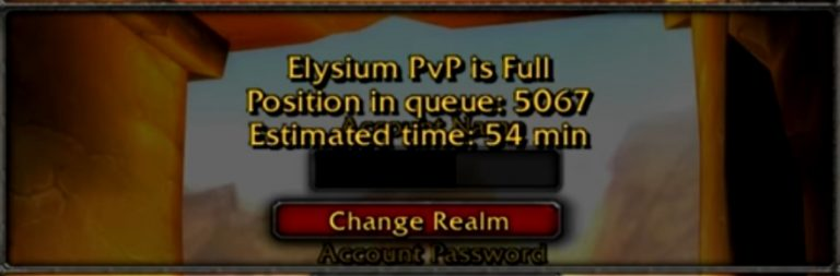 Elysium opens up yet another Nostalrius server